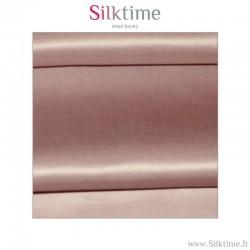 Fabric, silk charmeuse, brown