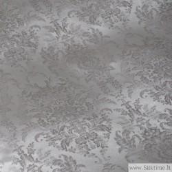 Silk jacquard, heavy fabric, ash