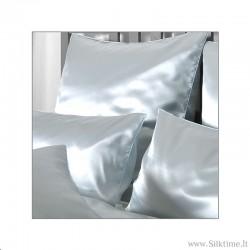 Silk pillow cases HELIOS azur