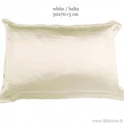 Užvalkalai pagalvėms iš charmeuse šilko