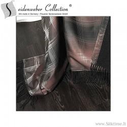 Silk-wool blankets Gill, jacquard silk