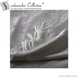 Silk-wool blankets Korona, jacquard silk