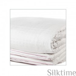 All-season mulberry silk duvet with ultra long-strand silk fibres