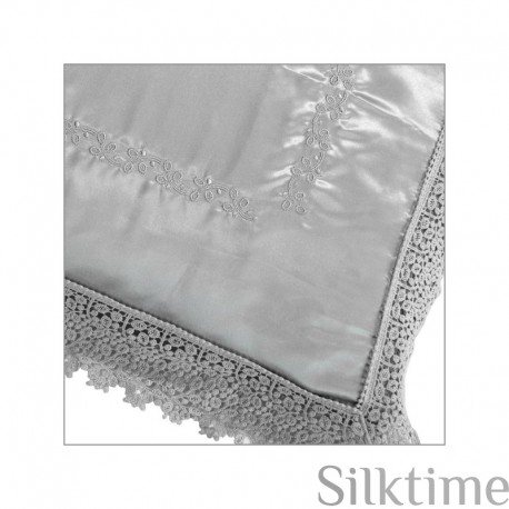 "Pillow cases from charmeuse silk ""SKY"""