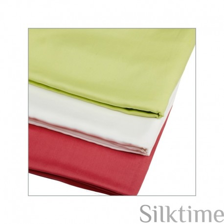 Flat sheets from habutai silk