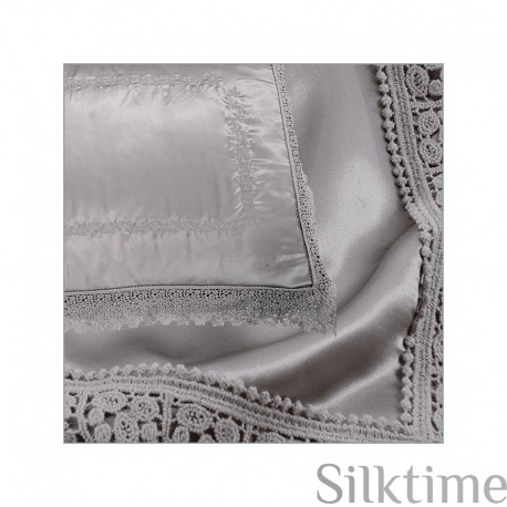 "Silk bedding set ""SKY"""