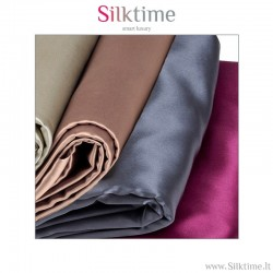 Duvet covers from charmeuse silk
