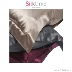 Pillow cases from charmeuse silk