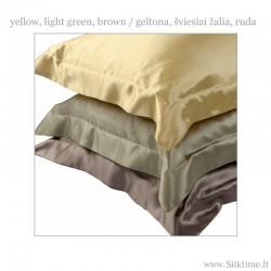 auksinė, šv. žalia, ruda