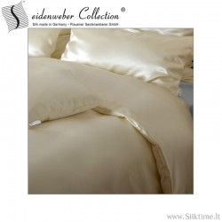 Silk duvet covers HELIOS nature