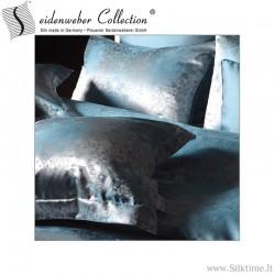 Žakardinio šilko užvalkaliukai pagalvėms ROMANO orient blue