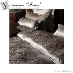 Jacquard silk duvet covers KORONA