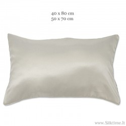 Natural silk pillow cases HELIOS nature downproof