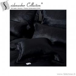 Наволочки из шелка жаккард из Seidenweber Collection GALAXIA black