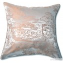 Jacquard silk pillow case Val de Marne
