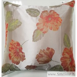 Jacquard silk pillow case Blossoms