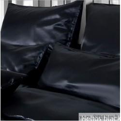 Наволочки из шелка из Seidenweber Collection HELIOS black with zipper