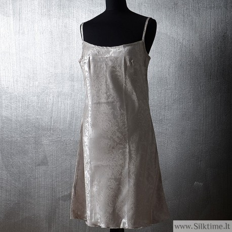 Silk nightgown Korona with spaghetti straps