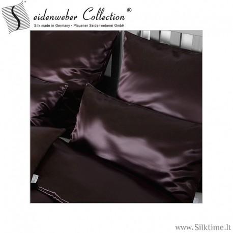 Žakardinio šilko užvalkaliukai pagalvėms IGNATIO nature