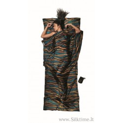 COCOON silk sleep sack TravelSheet with print