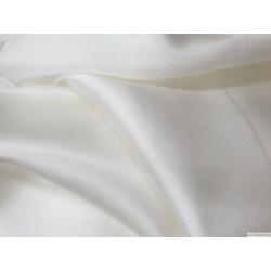 Ткань, шелковый шармез, белый