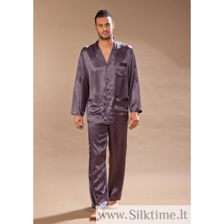 Long Silk pajama for men