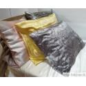 Silk pillow case with zipper closure, 50x70, various design