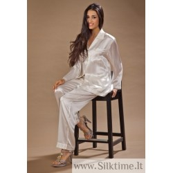 Long silk pajama for women FLORA