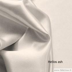 Silk charmeuse, heavy fabric, ash