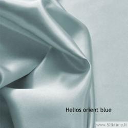 Silk charmeuse, heavy fabric, orient blue