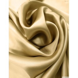 22 momme mulberry silk fabric charmeuse, light champagne