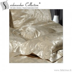 Silk jacquard pillow cases EYLA, tussah silk