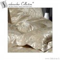 Silk jacquard pillow cases EYLA, tussah silk