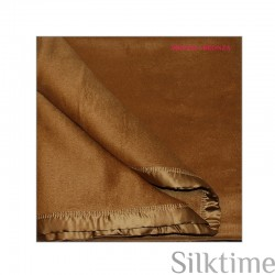 Silk fleece blankets, bronze