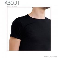 Švelnūs ir šilti Merino vilnos marškinėliai vyrams