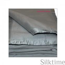 Чесучовое одеяло,  серый (seafoam)