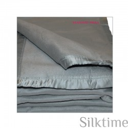 Silk fleece blankets, seafoam