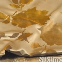 Duvet covers from jacquard silk