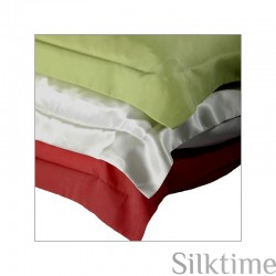 Pillow cases from habutai silk