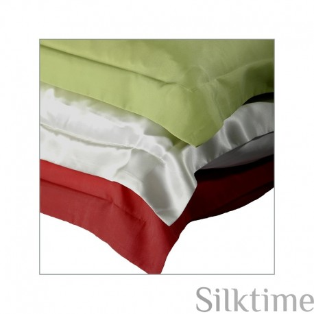 Pillow cases from habutai silk